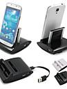 cwxuan® 3 în 1 pe ecranul de încărcare de sincronizare de date stație OTG încărcător USB leagăn pentru I9300 Samsung Galaxy s3