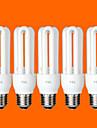 5 st fsl® e26 / e27 T3 3u 11W 580lm 6500K kallt vitt ljus CFL lökar (AC220V)
