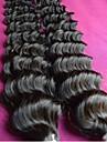 Vente en gros 8a brazilian cheveux vierges vague profonde 10pieces 1kg lot non transformes extensions bresilien de cheveux humains tisse
