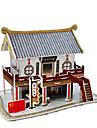 Pussel 3D-pussel Byggblock DIY leksaker Kinesisk arkitektur Paper Kamel Modell- och byggleksak