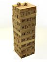trä antal block pussel Domino brädspel hjärnan spel
