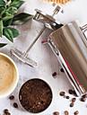 rostfritt stål fransk kaffe press rostar inte och tål maskindisk.