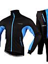 FJQXZ® Veste avec Pantalon de Cyclisme Homme Manches longues VeloEtanche / Resistant a la poussiere / Vestimentaire / Bandes