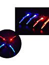 Eclairage securite velo / Ecarteur de danger LED - Cyclisme Etanche / Transport Facile LR44 15 Lumens Batterie Cyclisme