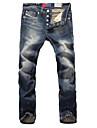 A bărbaților Pantaloni A bărbaților Casual / Mărime Mare Pături / Pur Fără Manșon Bumbac