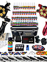 Kit de tatouage complet 2 Machine a tatouage x alliage pour la doublure et l\'ombrage 2 Machines de tatouage LCD alimentationEncres