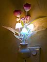 härlig svamp lampa smarta ljus kontrollerad akut ledde nattlampa för barn rum heminredning (slumpvis färg)