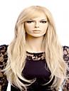 nouveaux europeen dame cosplay milieu grandes vagues blondes cheveux synthetiques