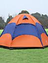 Sheng yuan 5-8 personnes Tente Double Tente pliable Une piece Tente de camping 1500-2000 mm Respirabilite Antimite enorme-Randonnee
