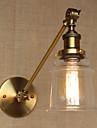 AC 100-240 40W E26/E27 Moderne/Contemporain Bronze Fonctionnalite for Ampoule incluse,Eclairage d\'ambiance Eclairage avec Bras oscillant