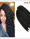 #1 / #1B havana twist Flätor Hårförlängningar 12 Kanekalon 2 Strå 120G gram Hair Braids