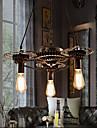 40W Lampe suspendue ,  Traditionnel/Classique / Rustique / Vintage / Retro Plaque Fonctionnalite for Style mini MetalSalle de sejour /
