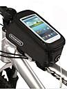 Sac de Velo 1.5LLSac de cadre de velo Anti-derapant Multifonctionnel Ecran tactile Sac de Cyclisme PVC Terylene Sacoche de VeloAutres