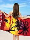 Drap de plage Comme image,Impression reactive Haute qualite 100 % Polyester Serviette
