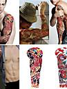 2 ark extra stora tillfälliga tatueringar, full arm