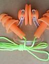 silikonmaterial öronproppar för dykning / simning (slumpmässiga färger)