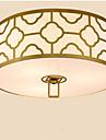 3W Lampe suspendue ,  Rustique Plaque Fonctionnalite for Style mini MetalSalle de sejour / Chambre a coucher / Salle a manger /