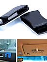 avec la commodite du titulaire de la carte / crochet de voiture sans lunettes de voiture coller lunettes carte clip