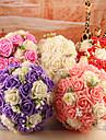 """Flori de Nuntă Rotund Trandafiri Buchete Nuntă Spumă 9.45""""(Approx.24cm)"""