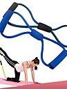 utbildning motstånd band rep rör träning övning för yoga 8 typ mode body fitness (slumpvis färg)