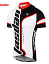 TASDAN® Maillot de Cyclisme Homme Manches courtes Velo Respirable / Sechage rapide / Anti-transpirationMaillot / Maillot +