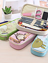 Sac de papier a lettres-Mignon / Business / Multifonction-Vert / Bleu / Incarnadin / Beige- en Cuir PU-