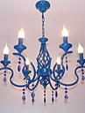 3W-30W Lustre ,  Contemporain Autres Fonctionnalite for Designers MetalSalle de sejour / Chambre a coucher / Salle a manger /