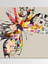 Djur / Känd / Patriotisk / Modern / Romantik Canvastryck En panel Redo att hänga,Andra