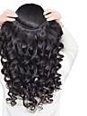 Tissages de cheveux humains Cheveux Peruviens Ondulation Lache 3 Pieces tissages de cheveux