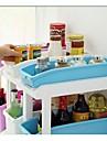 glidande kök skräp efterbehandling box, plast