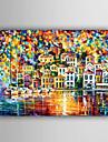 handmålade landskap / abstrakt landskap modern / europeisk stil oljemålning, duk en panel