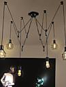 Max 60W Hängande lampor ,  Rustik Rektangulär Särdrag for designers MetallLiving Room / Bedroom / Dining Room / Skaka pennan och tryck på