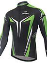 XINTOWN® Maillot de Cyclisme Homme Manches longues Velo Respirable / Sechage rapide / Resistant aux ultraviolets / Limite les Bacteries