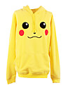 Inspire par Pocket Monster Petit monstre Anime Costumes de cosplay Hoodies Cosplay Imprime Jaune Manche Longues Manteau