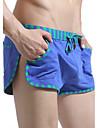 A bărbaților Pantaloni Scurți Monocolor / Dantelat A bărbaților Bumbac / Nailon / Polyester