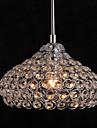 MAX40W Lustre ,  Contemporain Chrome Fonctionnalite for Cristal / Style mini MetalSalle de sejour / Chambre a coucher / Salle a manger /