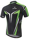 XINTOWN® Maillot de Cyclisme Homme Manches courtes VeloRespirable / Sechage rapide / Resistant aux ultraviolets / Compression / Materiaux