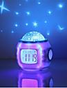 hry® musik starry stjärna sky digital ledde projektion projektor väckarklocka kalender termometer horloge reloj despertador
