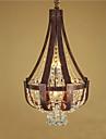 Lampe suspendue ,  Rustique Peintures Fonctionnalite for Style mini MetalSalle de sejour Chambre a coucher Salle a manger Bureau/Bureau