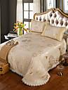 yuxin®ice jacquard punkt tvättas spets säng kjol sommar liggunderlag svit luftkonditionerade säten beding set