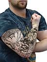tatuering ärmar desigh sport cykel cykling ärmar täcker huden solskydd elastisk armband (par)