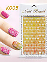 1pcs-Bijoux pour ongles-Doigt / Orteil- enBande dessinee / Fleur / Adorable-13*7.5cm