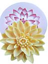 ett hål djupt blomma silikonform fondant formar socker hantverksredskap harts blommor form för kakor