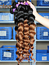 """3pcs / lot 12 """"-26"""" malaysiska jungfru hår löst våg människohår väver"""