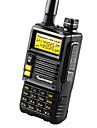 Quansheng TG-45UV Walkie-talkie 4-5W 2500mAh 400-470 mHz / 136-174 mHz 2500mAh 3-5 kmFM-radio / Nödlarm / Programmerbar med PC-mjukvara /