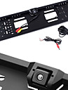 EU European Car License Plate Frame 170° HD Rear View Camera