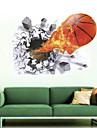 Tecknat / Romantik / Fashion / Högtid / Landskap / Former / Transportation / fantasi / Sport / 3D Wall Stickers Väggstickers i 3D,PVC