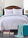 100% coton floral blanc matelasse jeu de couvre-lit, king size