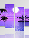Abstrait / Fantaisie / Loisir / Paysage / Architecture / Photographie / Moderne / Romantique Toile Quatre Panneaux Pret a accrocher,
