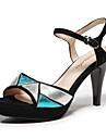 aokang® kvinnors läder sandaler - 142811024